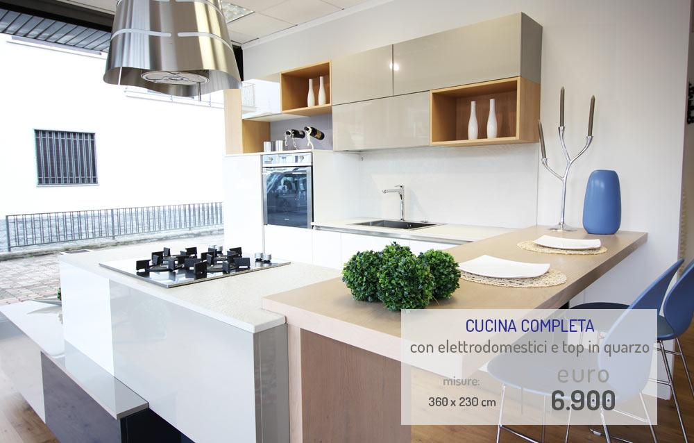 Cucina Top In Quarzo